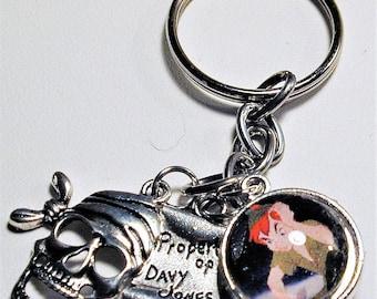 Peter Pan Inspired Charm Key Ring #2