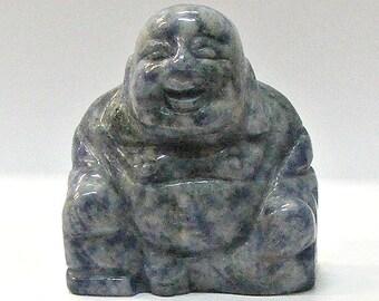 Buddha in Sodalite Stone-50mm