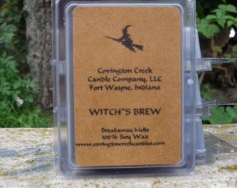Halloween Witch's Brew Pure Soy Breakaway Melt. Outdoors Scent, Fall Scent