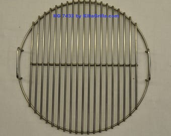 """17.5"""" Round BBQ Stainless Cook Grill Grate- KG 7432 Weber replacement"""