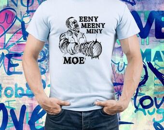 Eeny Meeny Miny Moe shirt/ Walking dead tshirt/ The Walking Dead Tv series/ negan t-shirt/ negan lucille/ Men tshirt/ Mens t shirt/ (B188)