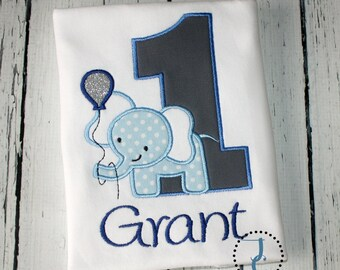 Elephant Birthday - Corin