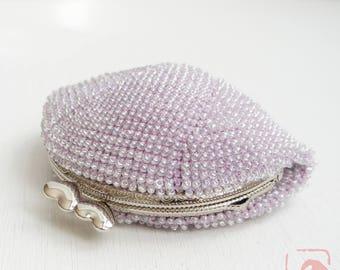 Baba handmade beads crochet coinpurse No.724