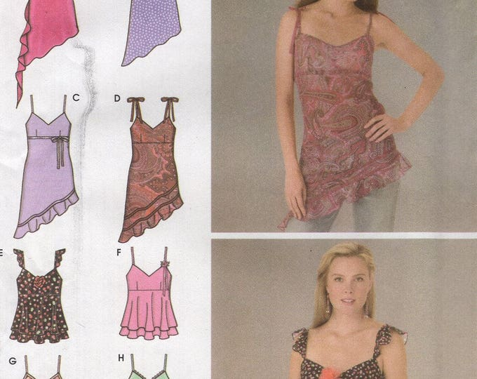 FREE US SHIP Simplicity 4750 Design Your Own Tunic Tops 8 Looks Size 4/10 4 6 8 10 Bust 29 30 31 32 Sewing Pattern