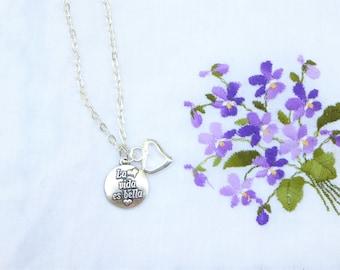 Short Pendant - Lilac Garden by VIDA VIDA rhQKJf6cYF