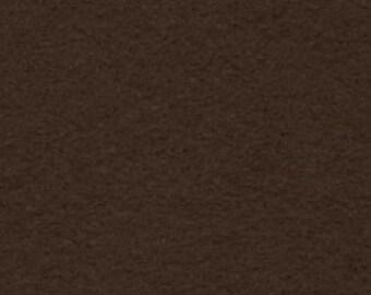 """1 Yard Dark Brown Acrylic Felt 36""""x36"""""""