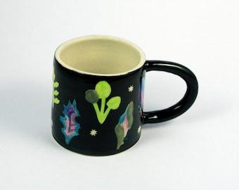 Spring Greens Ceramic Mug