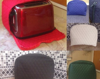 Zipper Toaster Covers 2 Slice Appliance Covers Multiple Colors Available Storage Cover Keep Out Bugs and Mice Made To Order