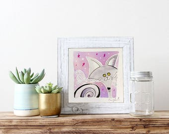 MICROMICI-abstract portrait of your pet!