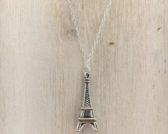 Eiffel Tower Necklace