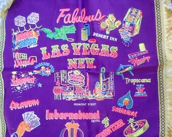 Las Vegas pillow cover - fabulous souvenir