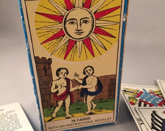 The Epinal Tarot Cards by Cartomancie Grimaud Made in France