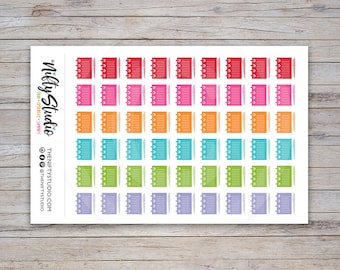 Notebook Stickers | Planning Time Stickers | Planner Stickers | The Nifty Studio [151]