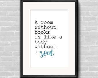 Book quote - Printable