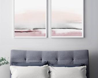 Amazing Bedroom Print Set, PRINTABLE Wall Art, Set Of 2 Prints, Abstract Wall Art