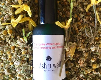 Skin care, Face mist, Chamomile mist, face spray, skin care, aromatherapy, face tonic, gentle skin care, soothing, calming.