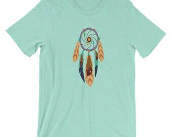 Dream Catcher T-Shirt, Native American Dream Catcher T-Shirt, Boho Dream Catcher, Bohemian Tee Shirt