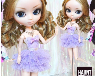 "Pullip Doll Haunt Couture ""Lush Lavender"" high fashion doll clothes | Girly | Ruffles | Princess | Jun Groove"