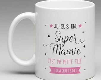 Personalized great Grandma mug