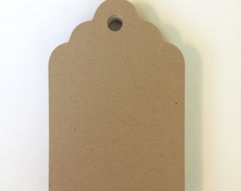 Kraft brown tags, White tags, Blank tags, Blank gift tags, Set of 25, Favor tags, DIY, Wedding tags, Price tags, Merchandise tags, 4 sizes