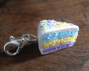 Charm's share of cakes multicolor - yellow blue purple