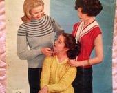 1950s Knitting Pattern fo...