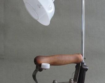 Iron in original metal lamp