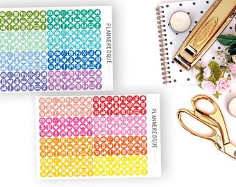 Assorted Muti Color Mini Icons - SKU #0053