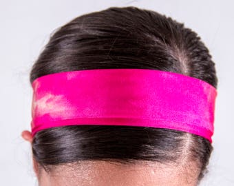 Pink Tie-Dye Regular Headband