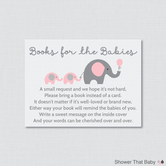 Ideal Baby Shower Invitations Bring A Book Instead Of Card