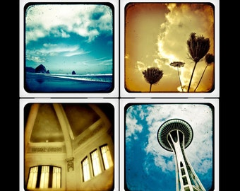 Pacific Northwest TTV - Ceramic Coaster Set