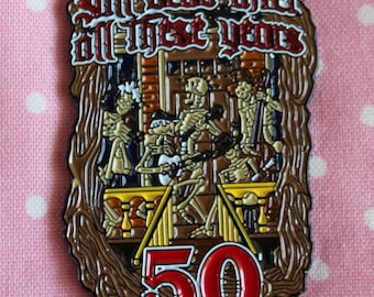 Grateful Dead 50th Anniversary Pin