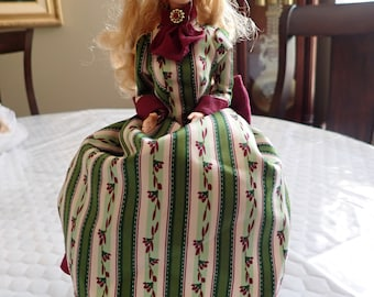 Grolier Barbie Doll by MATTEL Barbie, The Front Window, Three Tear Drops