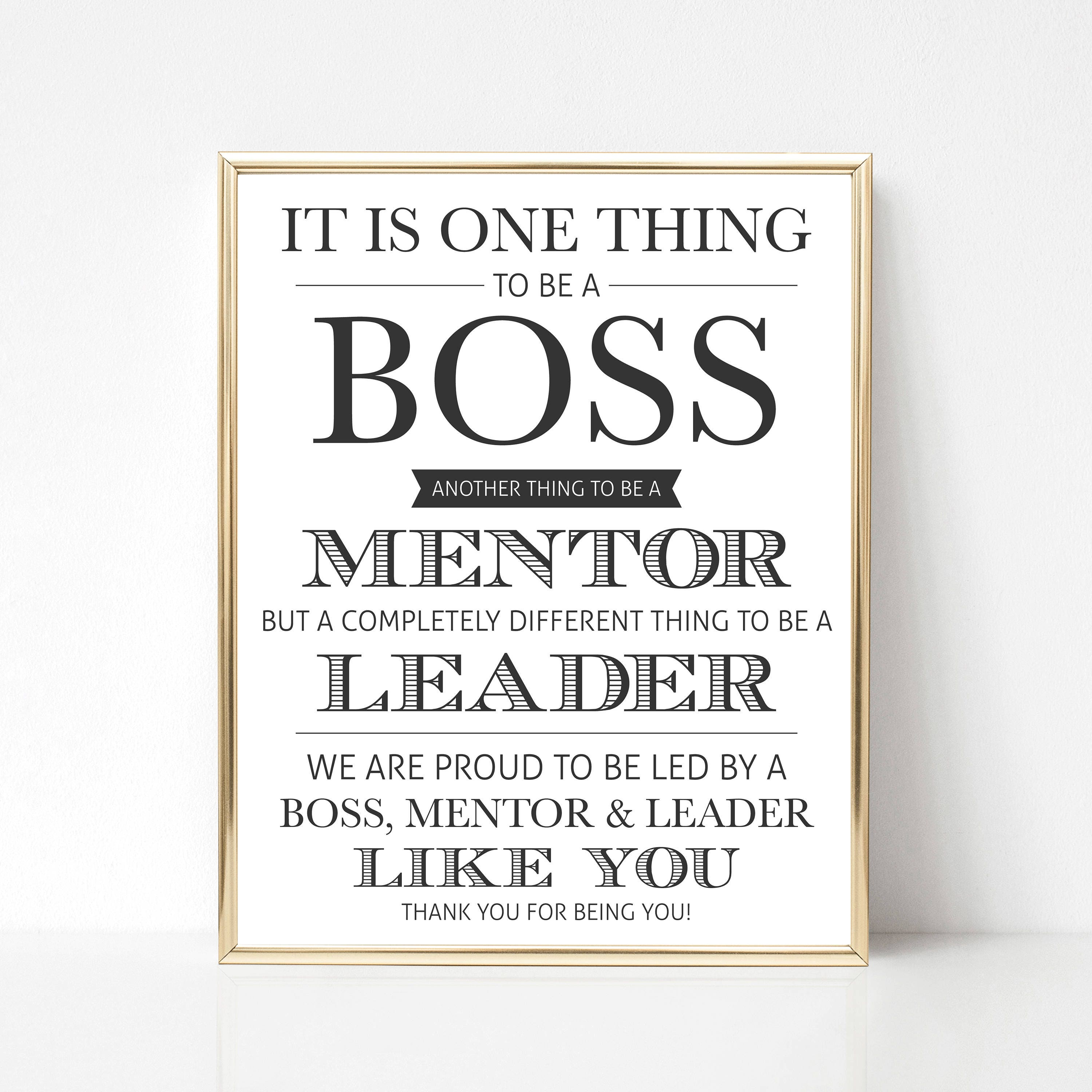 Boss Quotes: Digital Boss Quote Gift We Best Boss Quote Gift Boss