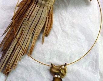 """Necklace """"Rococo Herbarium"""""""