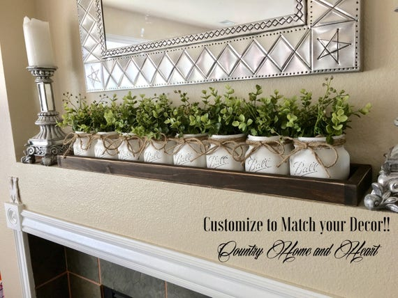 Kitchen Table Decor Centerpiece Farmhouse