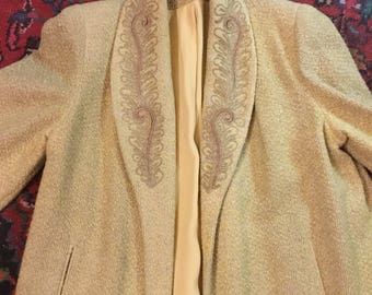 Mid 1930s swing jacket