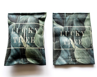 Lucky Tree- Tissue box cover