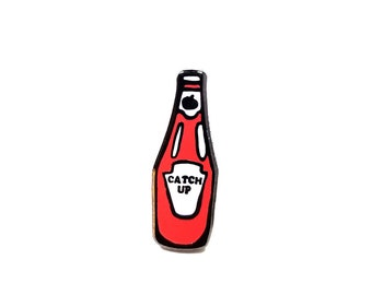 Catch Up (lapel pin)