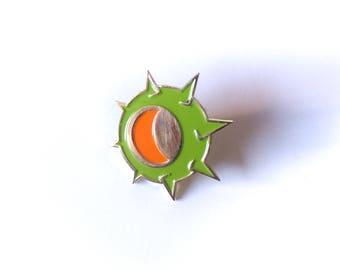 Junkrat Riptire Brass Enamel Pin