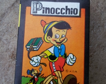 Vintage Walt Disney Pinocchio Card Game