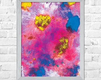 Abstract Art Print, Wall art print, Watercolor painting, Abstract painting, Watercolor poster, Home decor, Abstract Watercolor Painting