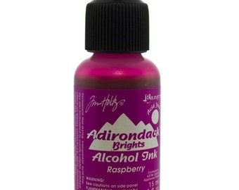 Tim Holtz Adirondack Alcohol Ink Brights RASPBERRY 0.5oz  (PM4028)