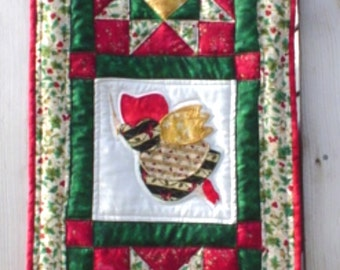 PDF Download Christmas Sunbonnet Sue Wall Hanging Pattern