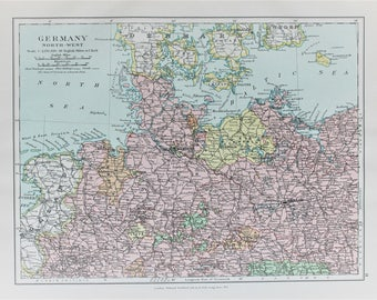 West germany map Etsy