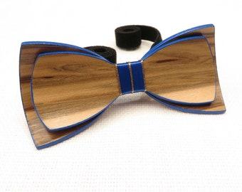 Beautiful Wood Bow Tie 0004