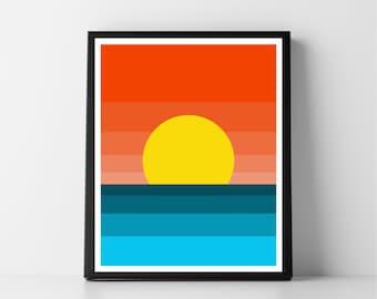 Coucher de soleil #2