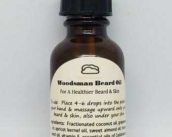 The Woodsman, Beard Oil
