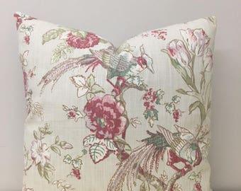Birds Linen Pillows, Linen Pillow Covers, Boho Pillow, Linen Cushion, Linen Pillow Case, Decorative Throw Pillow, Linen 18X18 Sofa Pillows