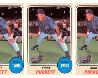 5 - 1993 Sports Cards #44 Kirby Puckett Baseball Card Lot Minnesota Twins